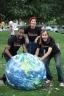 The Milkshake Trio geeks Kalamazoo Library! (pic: Kim Howard)