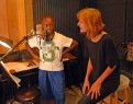 "Vance & Lisa work on ""Baltimore"""