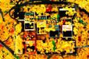 "Shepp's effects box after ""Bottle of Sunshine"""