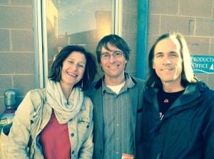 Lisa, Justin Roberts and Mikel.