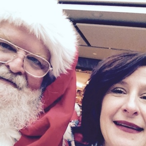 Selfie with Santa