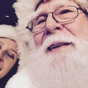Towson Santa Selfie