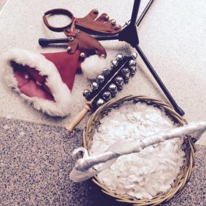 Christmas show supplies.