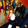 This little superhero needs two baseballs! - - (Cool) Progeny's Superhero Social